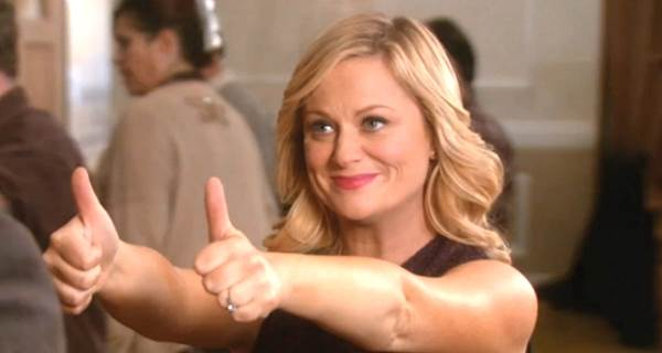 Leslie Knope Thumbs Up